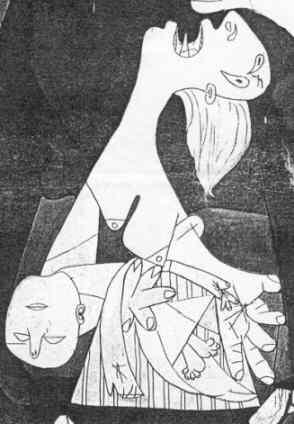Guernica-femme-a-lenfant