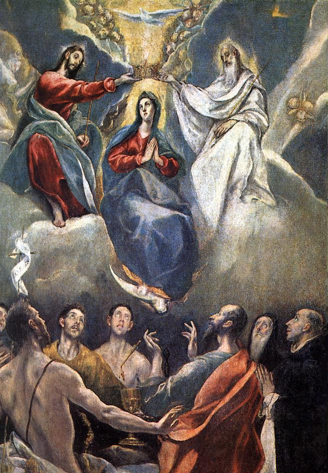 Coronation Of The Virgin El Greco