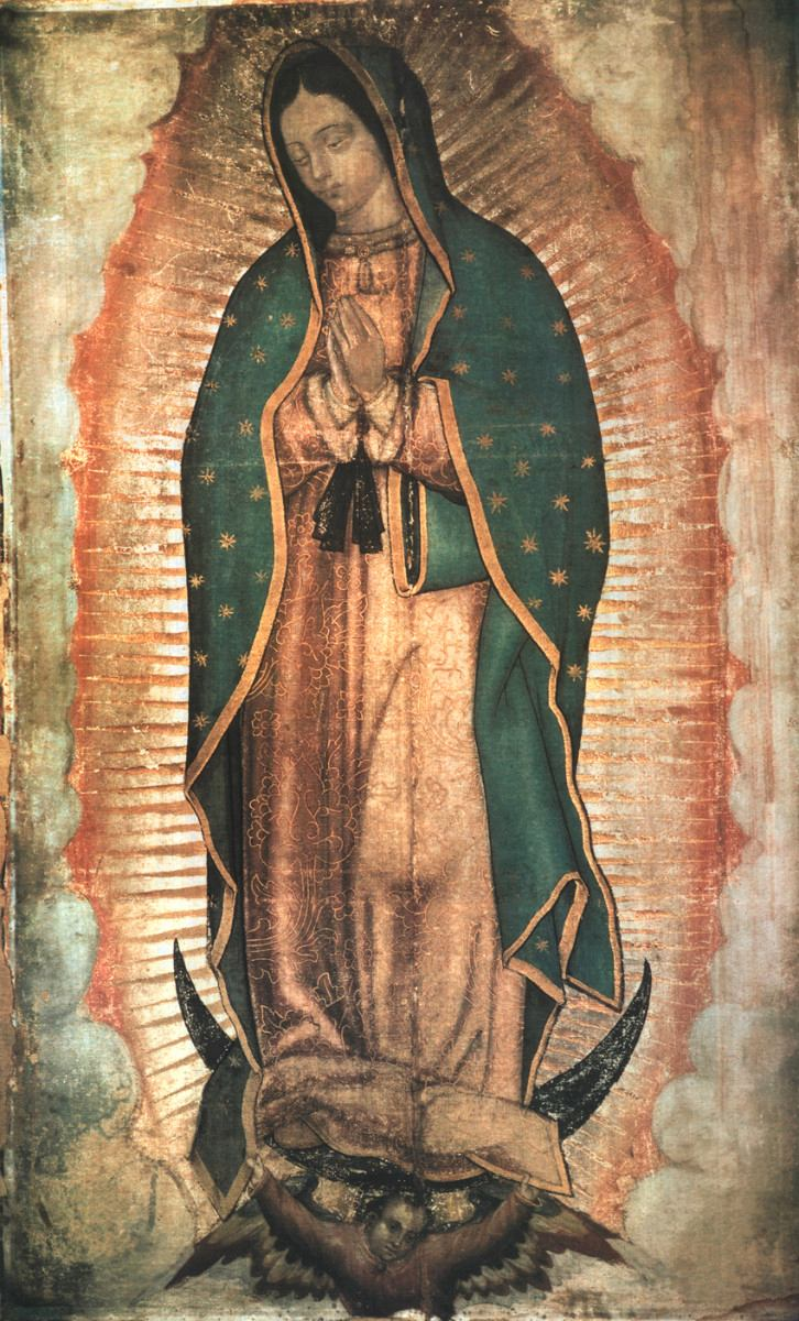Our lady of Guadalupe, 1531 Basilica of Our Lady of Guadalupe, Tepeyac Hill, Mexico City, Mexico