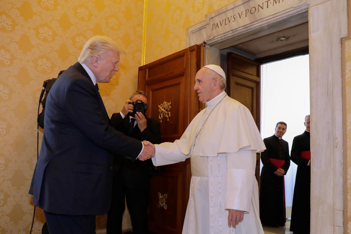 Trump, Pope Francis