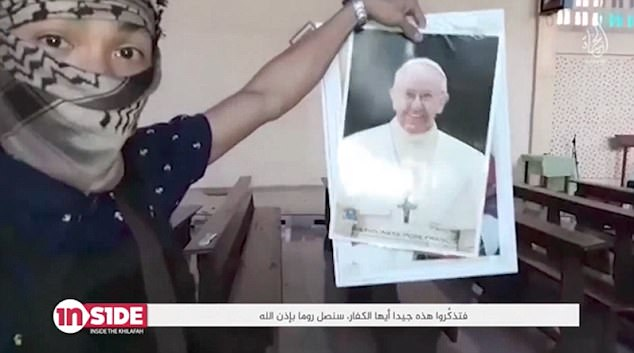 ISIS video threatens Pope Francis
