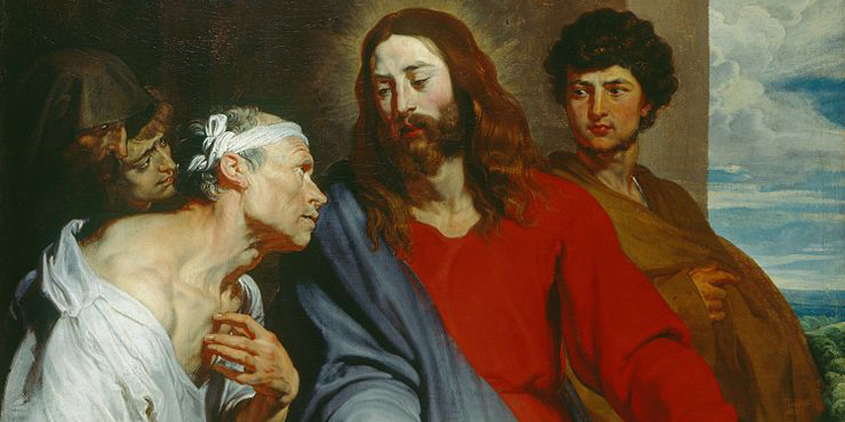 CHRIST,HEALS, PARALYTIC