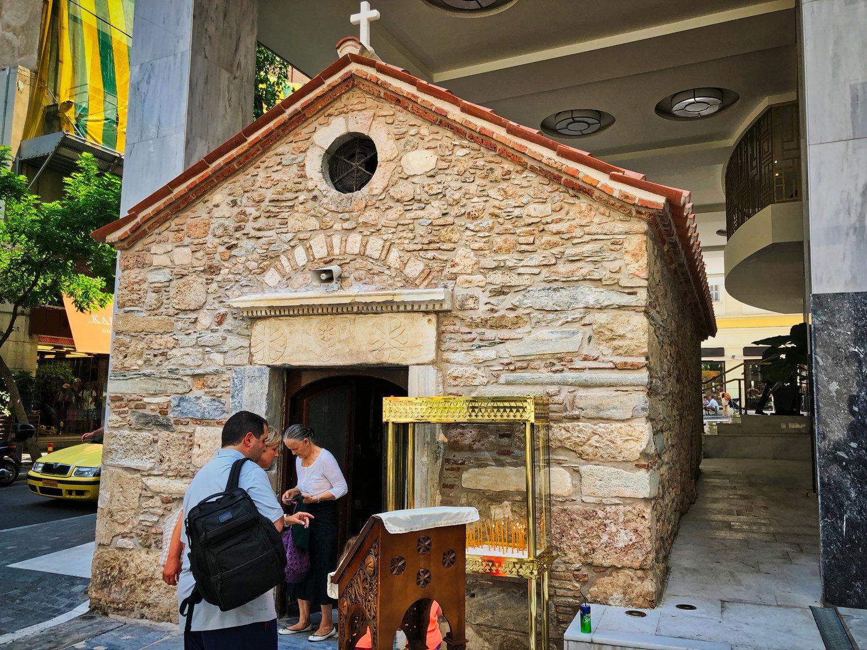 CHURCH OF AGIA DYNAMIS