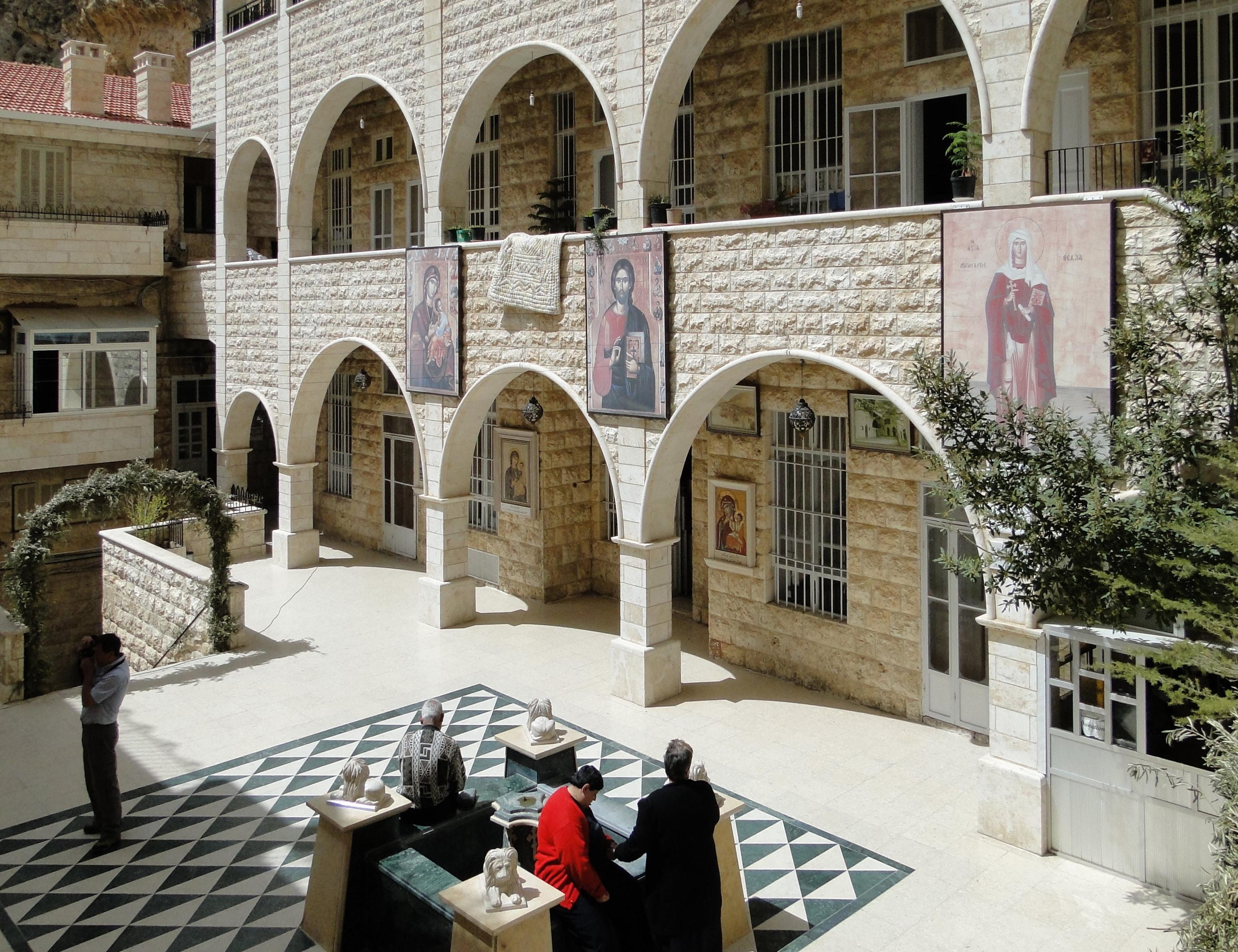 MONASTERY,MA'LOULA,SYRIA