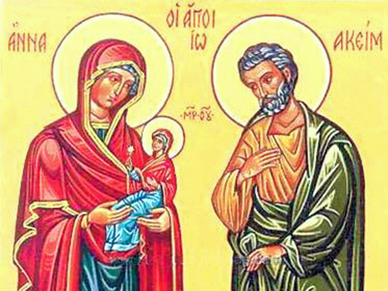 SAINT ANNE AND JOACHIM