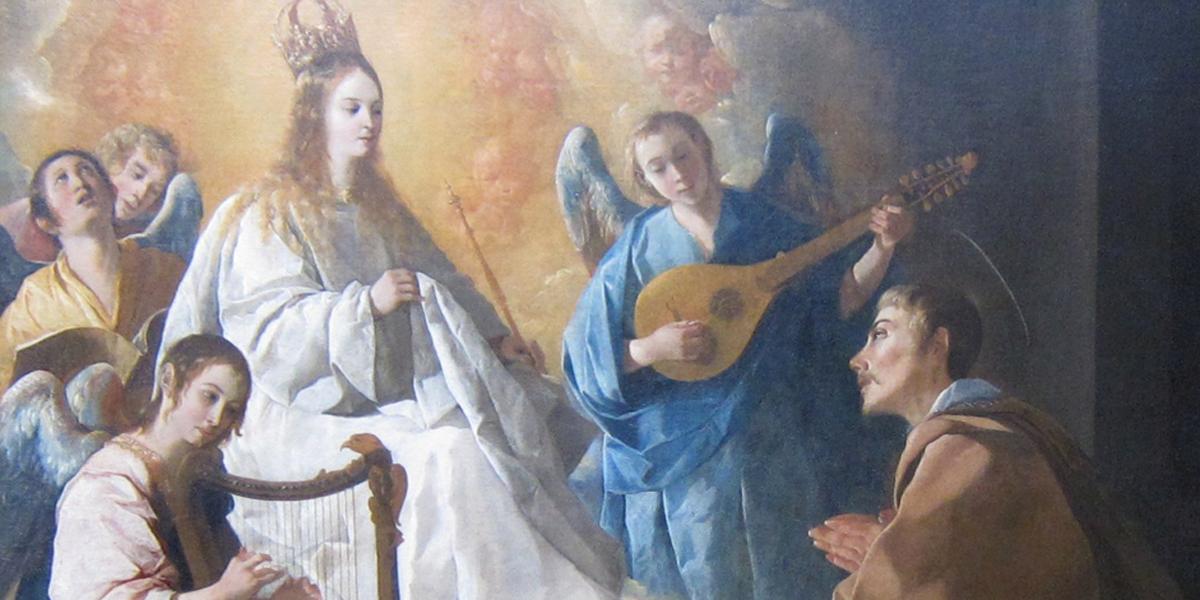ST PETER NOLASCO,MARY