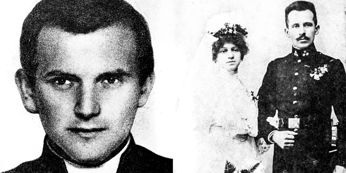 POPE JOHN PAUL II,PARENTS