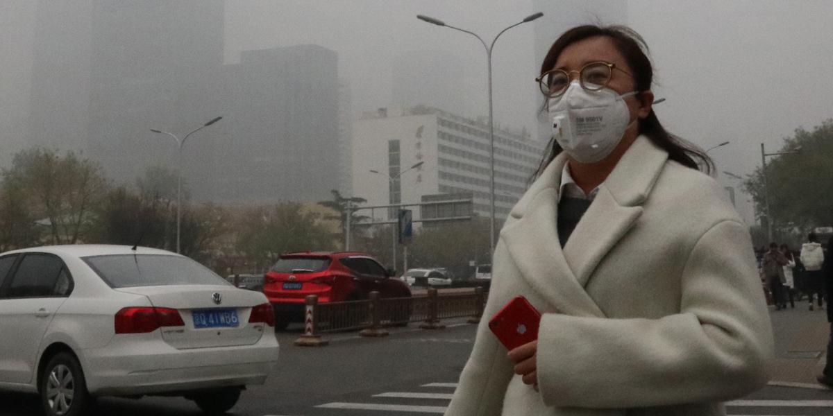 CHINA,POLLUTION,SMOG