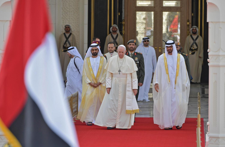 PIELGRZYMKA PAPIEŻA FRANCISZKA DO ZJEDNOCZONYCH EMIRATÓW ARABSKICH