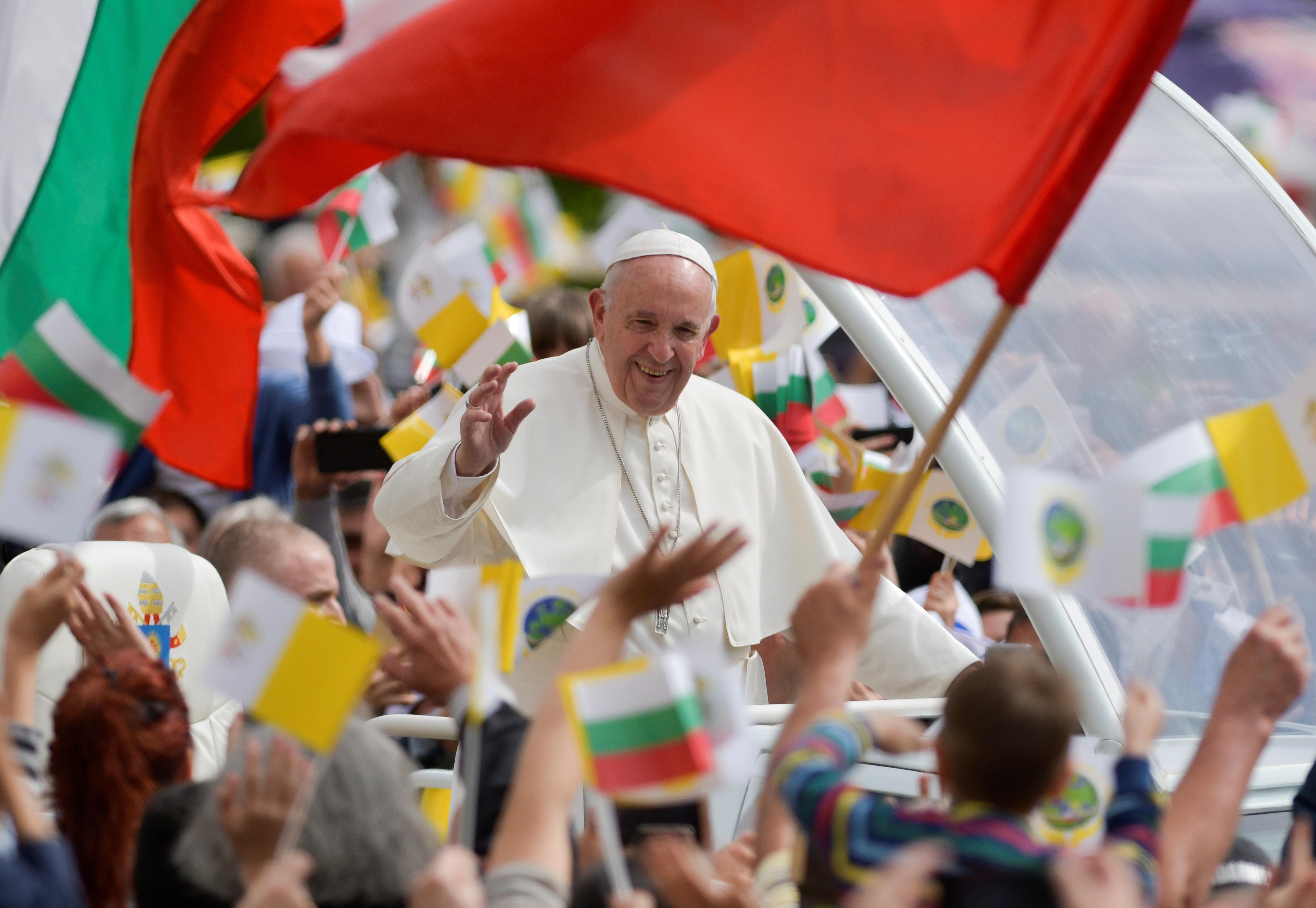 pope francis Bulgaria