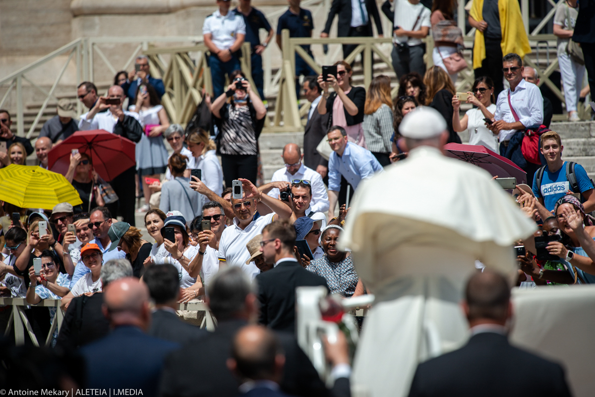 POPE AUDIENCE JUNE 12, 2019