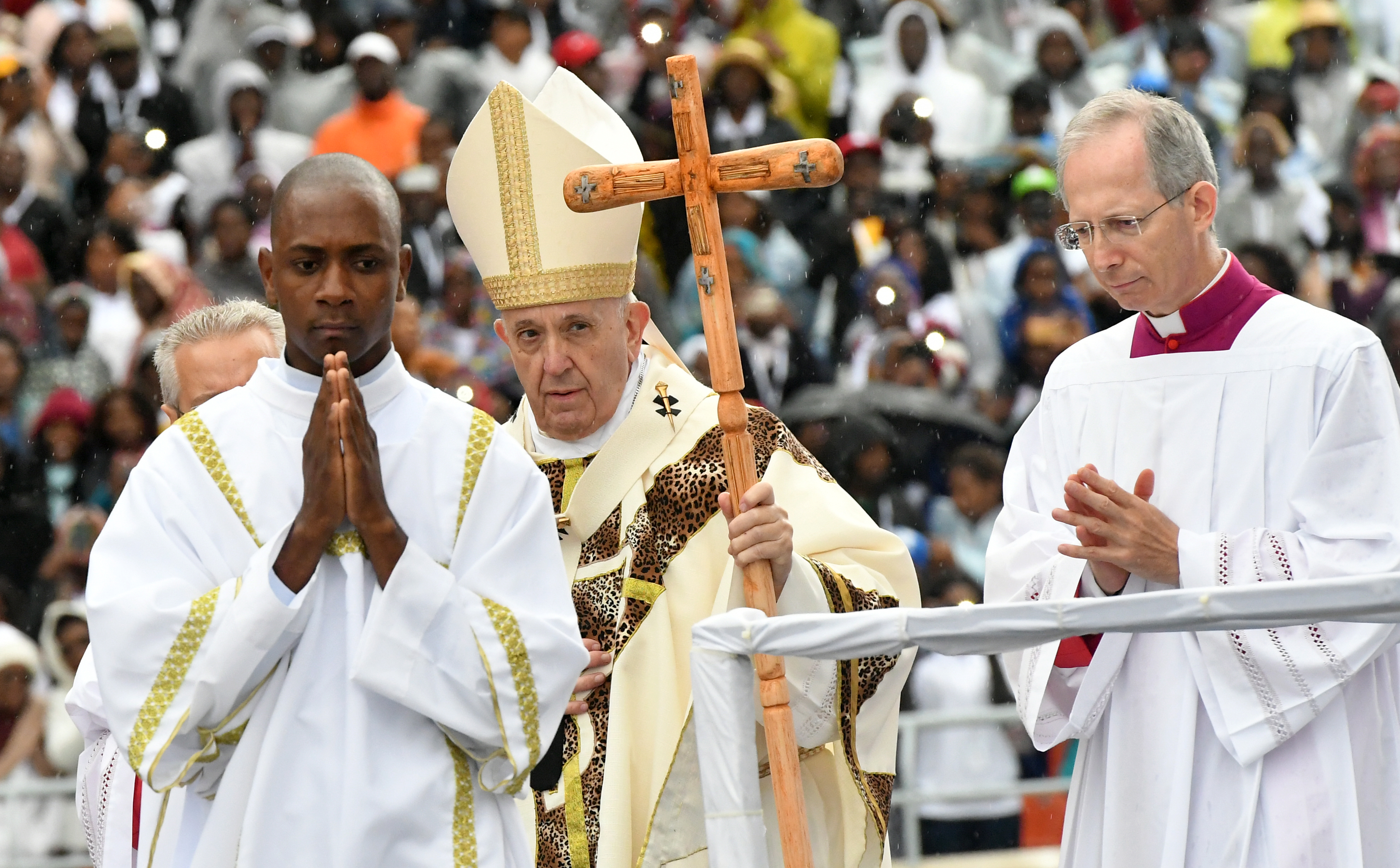 Pope Mozambique