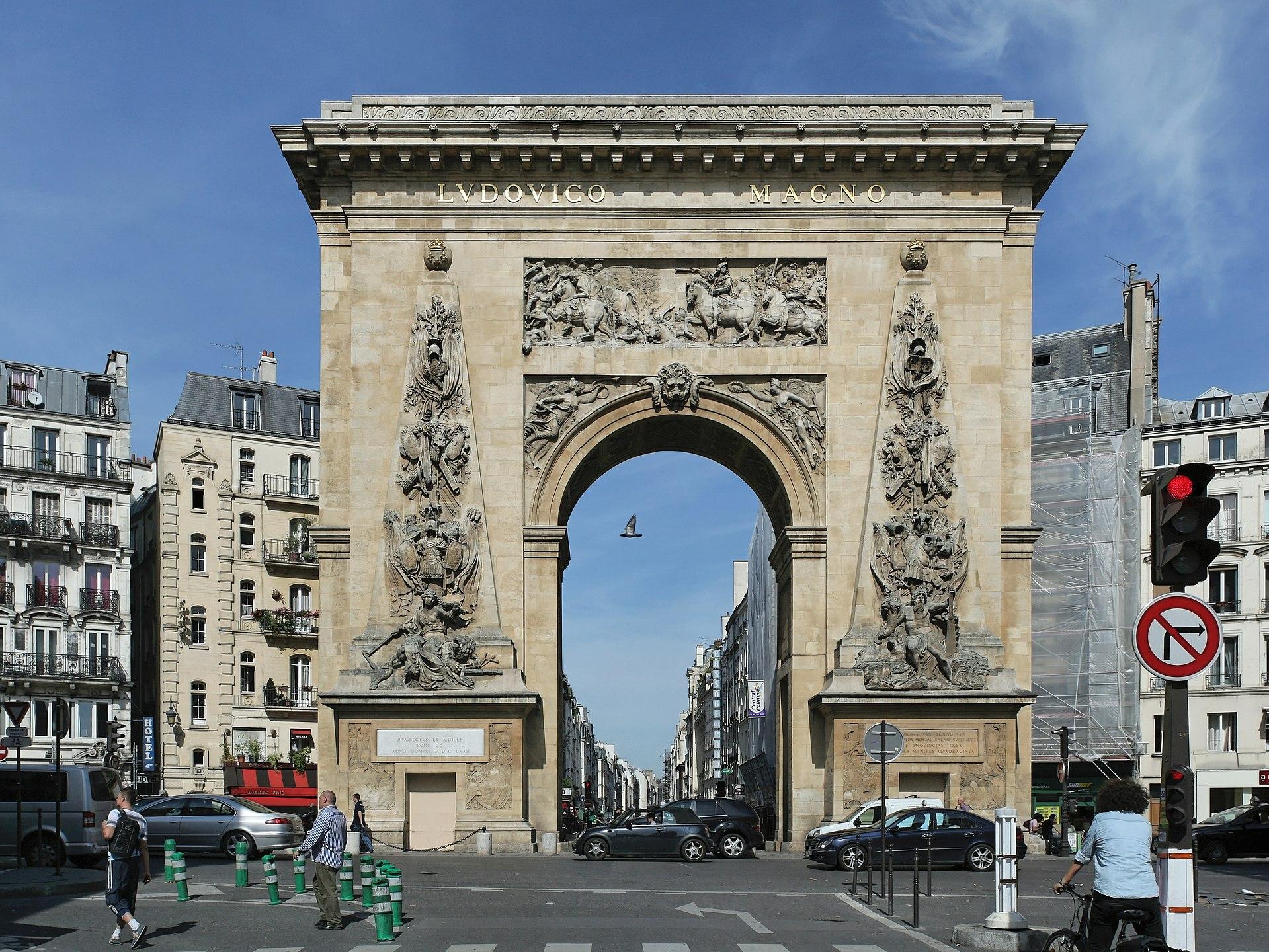 Porte Saint-Denis à Paris