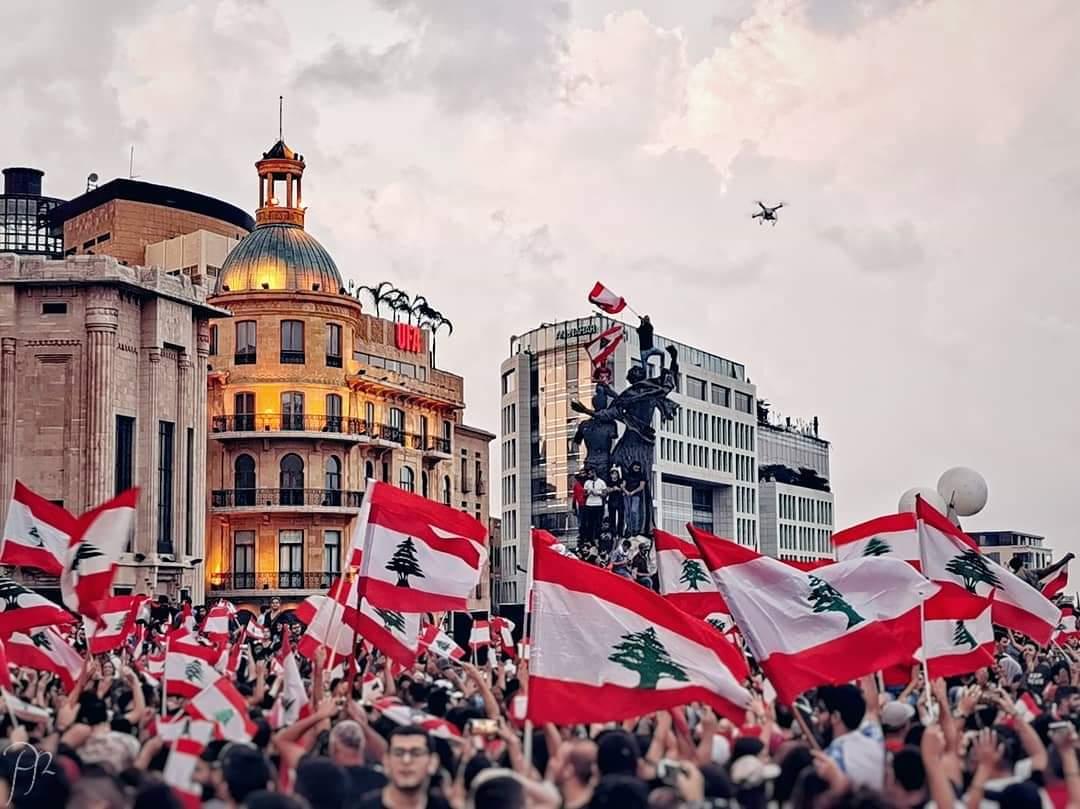 libano manifestazione