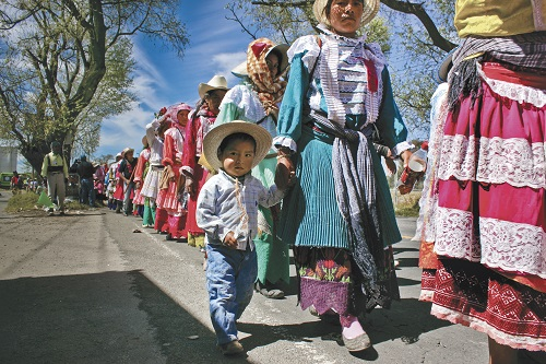 Mexicanos con alma de peregrinos