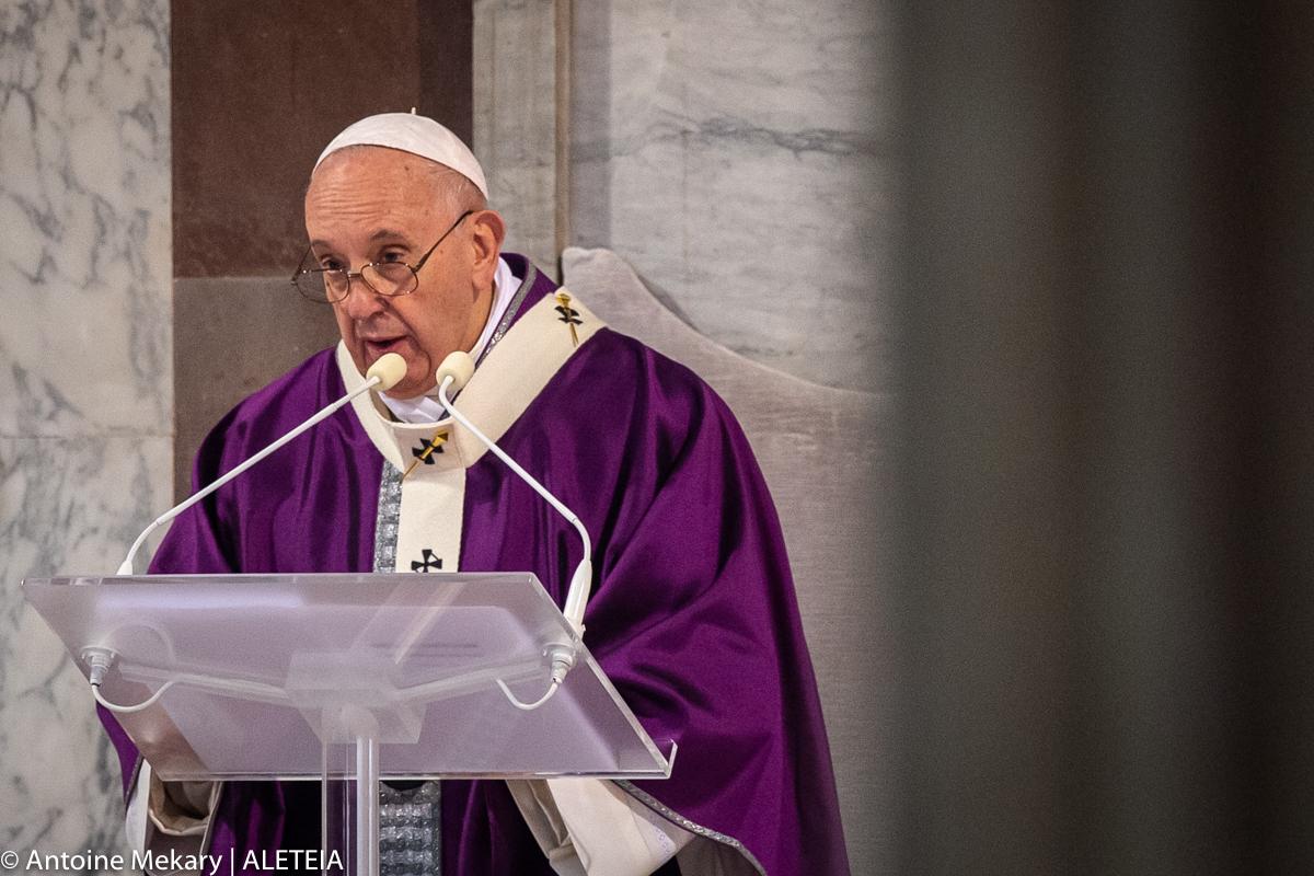 POPE ASH WEDNESDAY