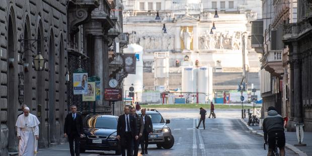 pope rome street