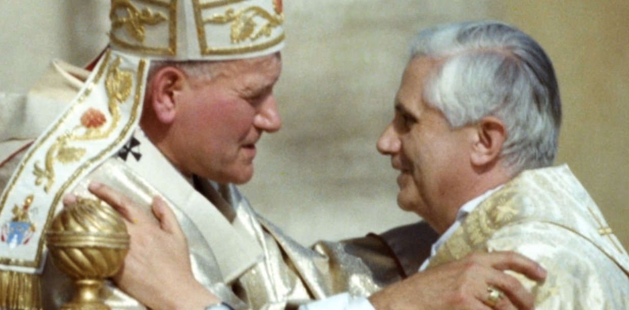 JOHN PAUL II and BENEDICT XVI