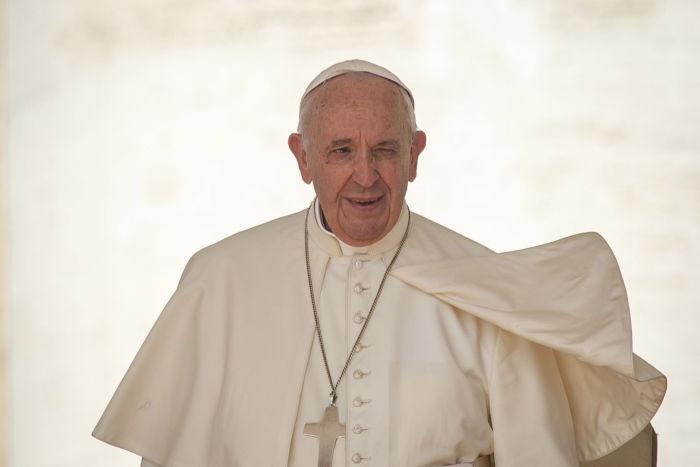 Le pape François au Vatican.