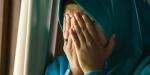 depressed Muslim woman in Islam