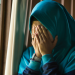 depressed Muslim woman in Islam