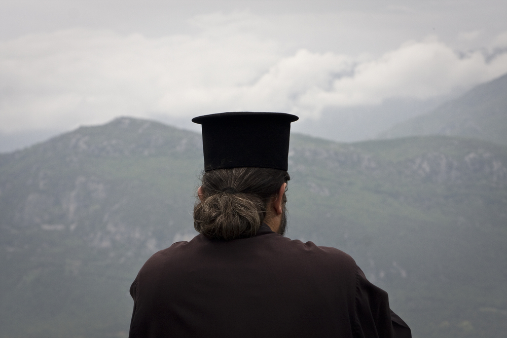 priest in Greece